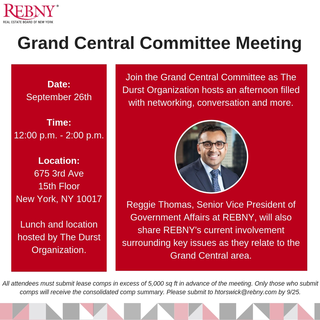 Grand Central District Committee Meeting
