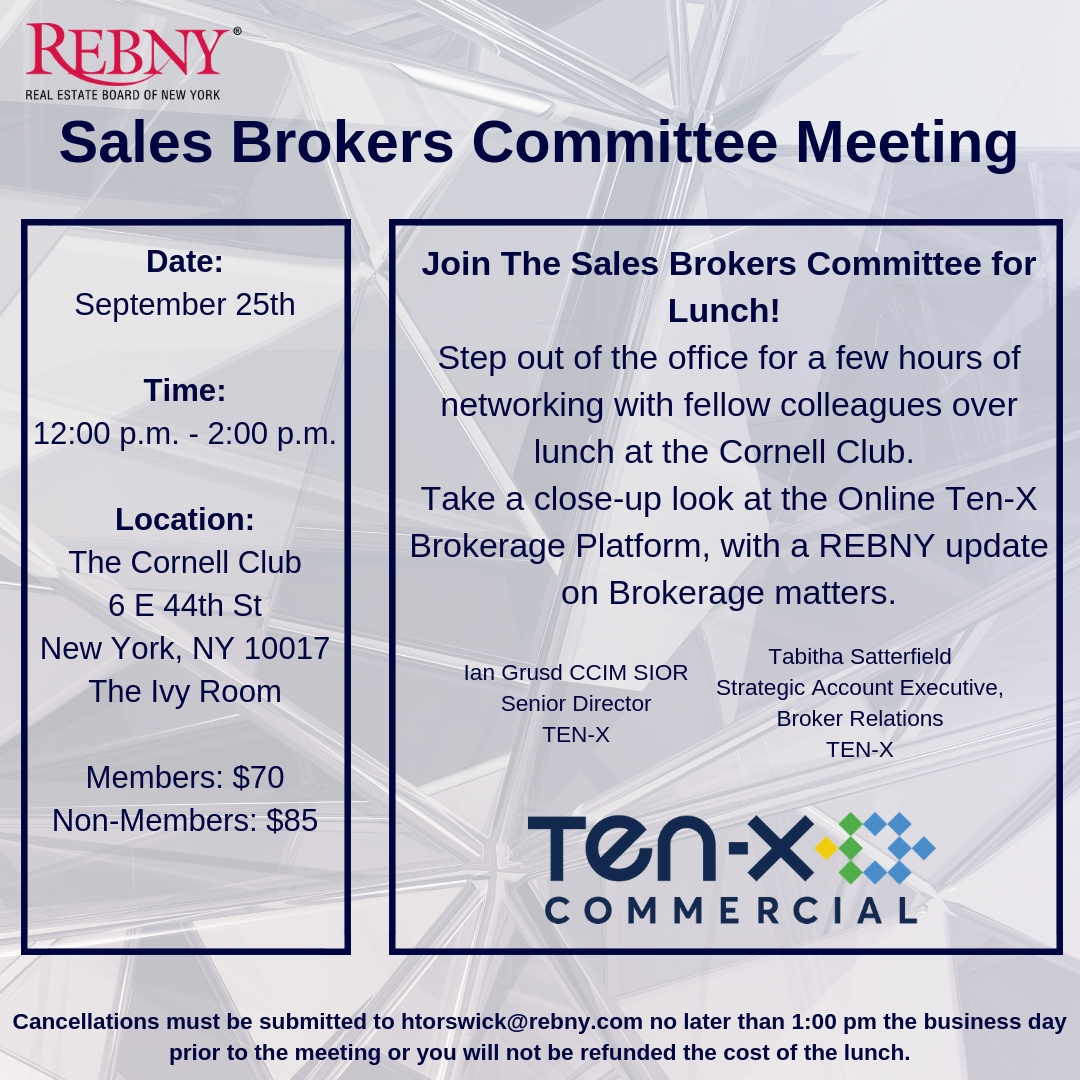 Sales Brokers Committee Meeting