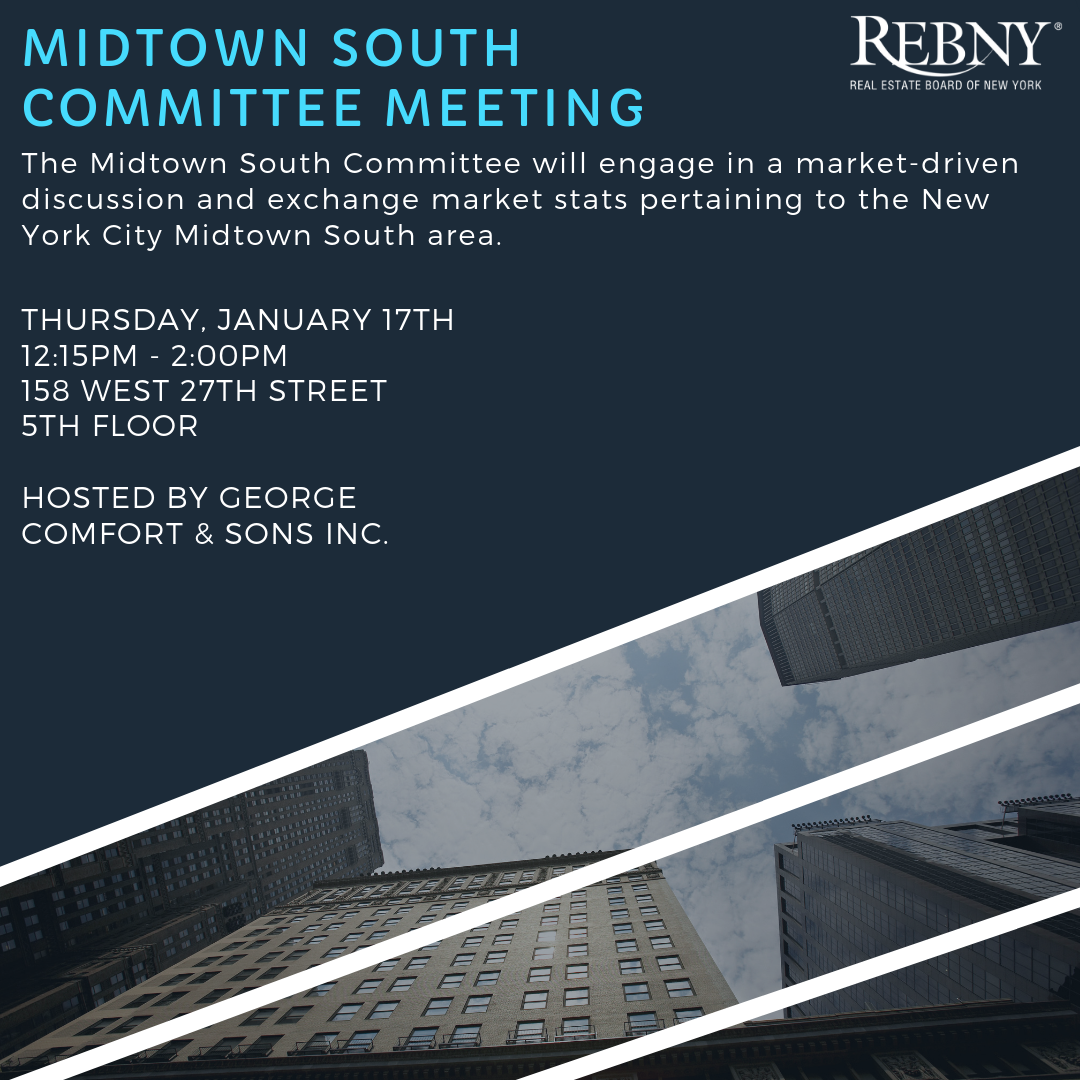 Open Commercial Midtown South Committee Meeting