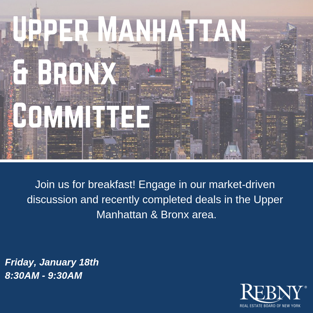 Commercial Upper Manhattan & Bronx Committee