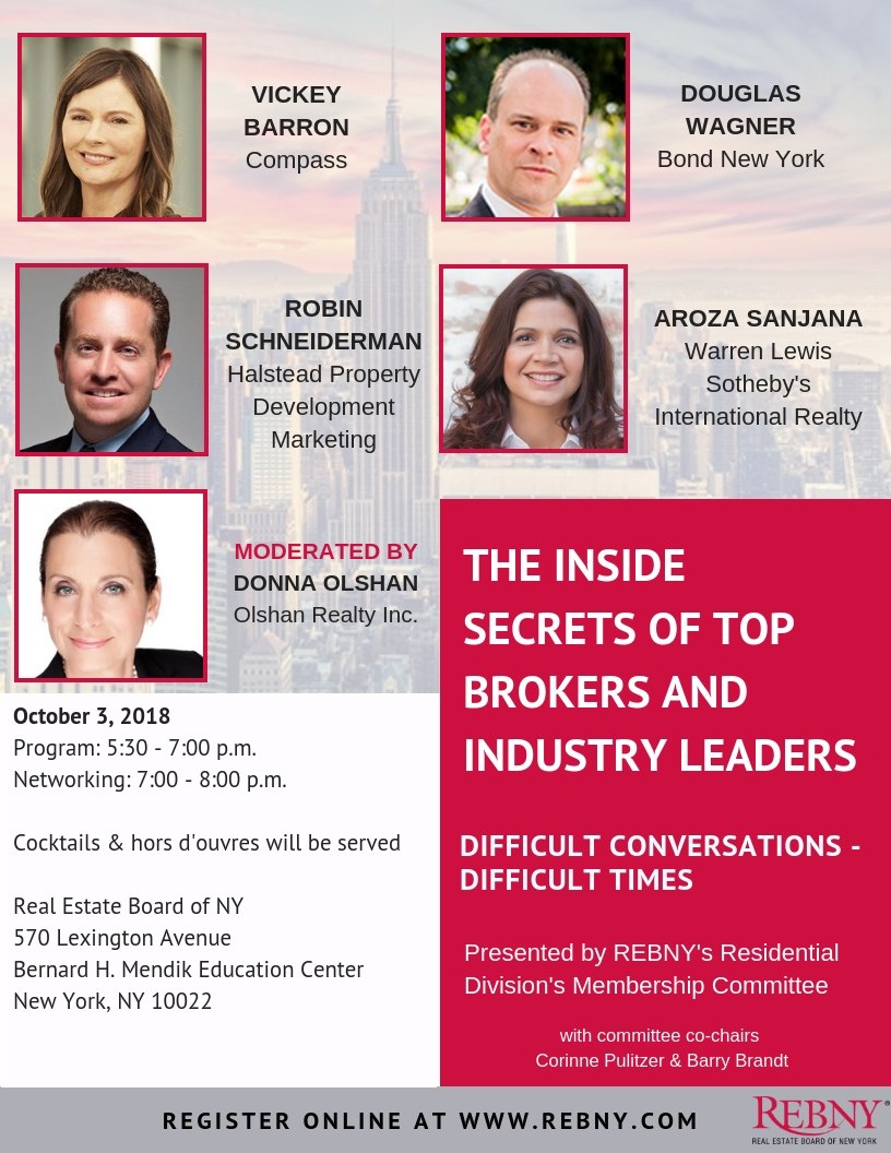 Top Brokers Seminar - Difficult Conversations, Difficult Times