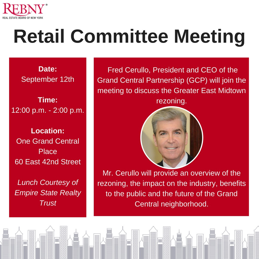 Retail Committee - Fred Cerullo, Grand Central Partnership