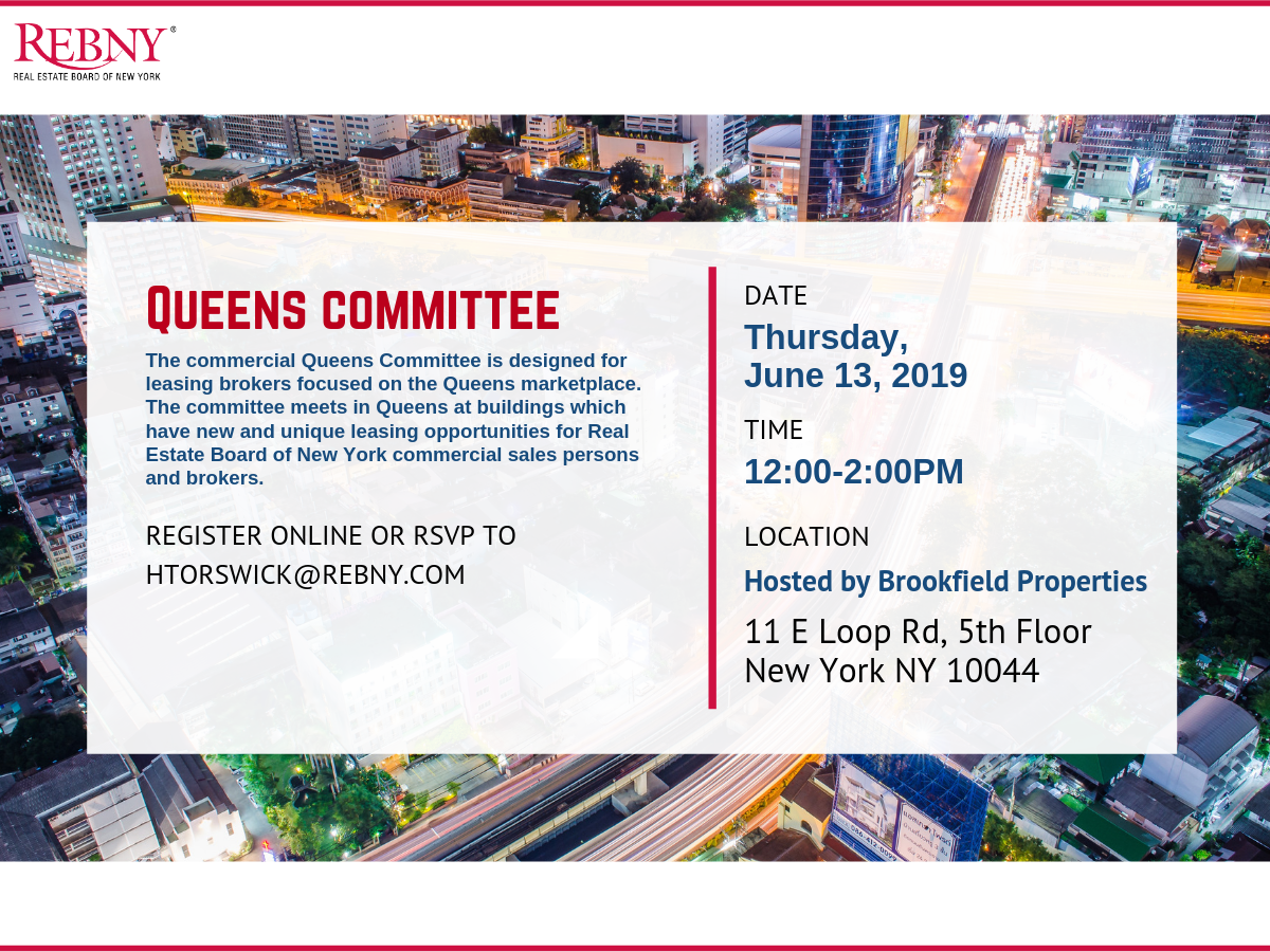 Commercial Queens Committee Lunch