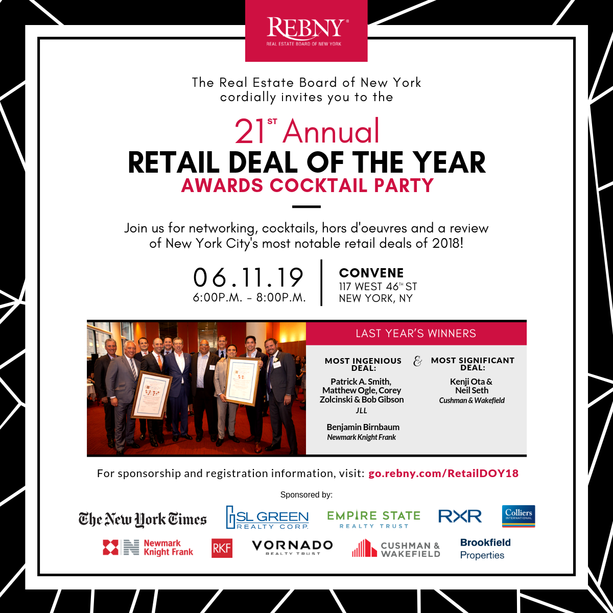Retail Deal of the Year Awards Cocktail Party