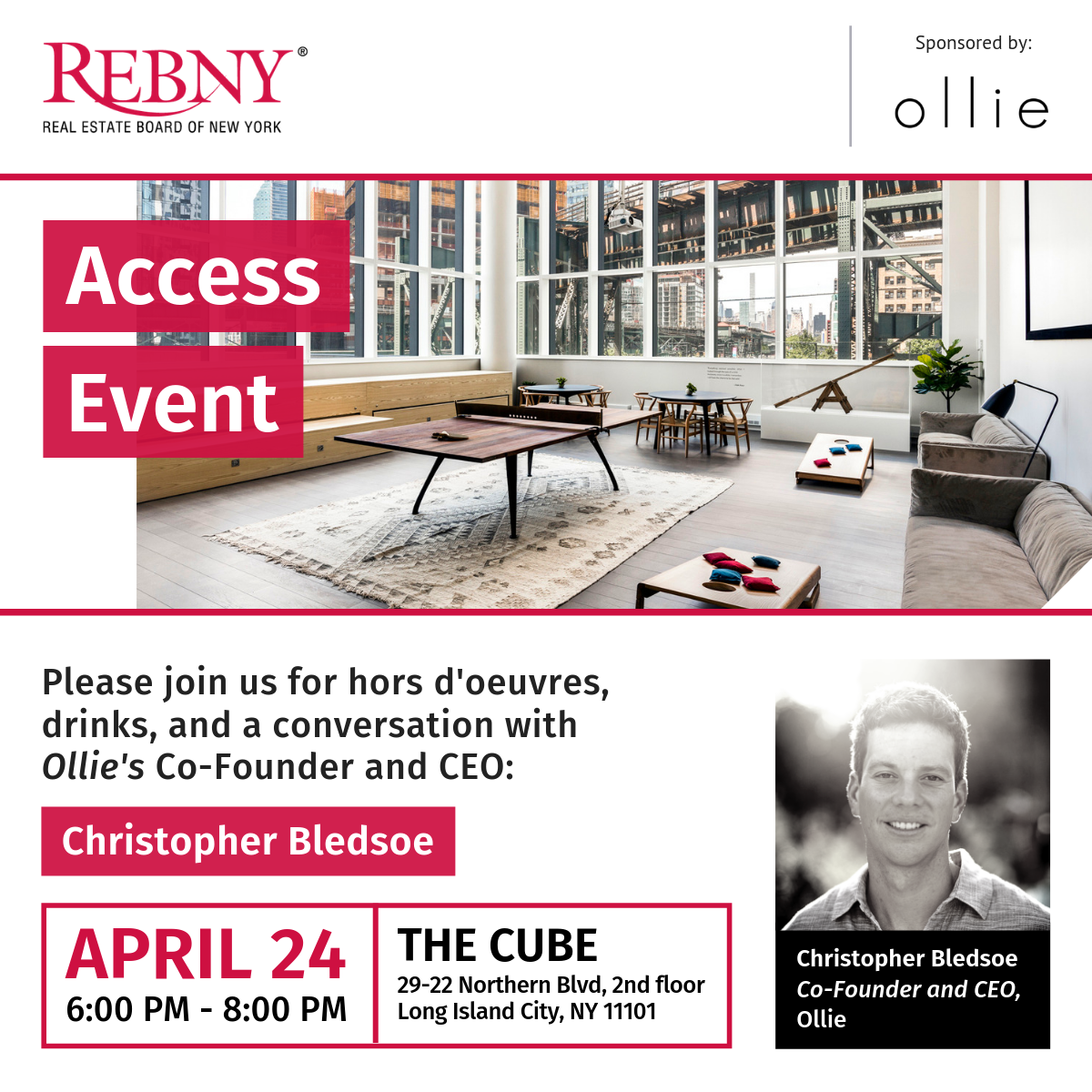 REBNY Access New Professionals Cocktail Event
