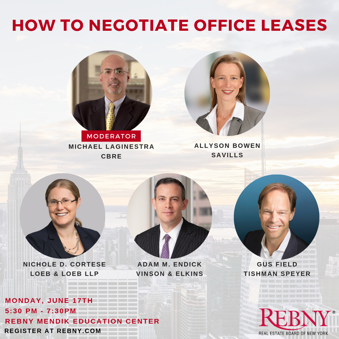 REBNY Negotiation Seminar