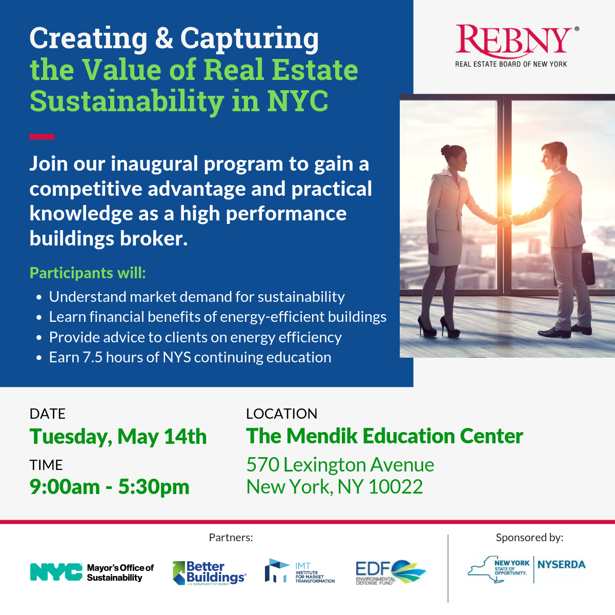 Creating & Capturing the Value of Real Estate Sustainability in NYC