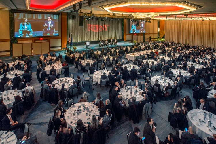 REBNY Spring Members' Luncheon at the New York Hilton Grand Ballroom