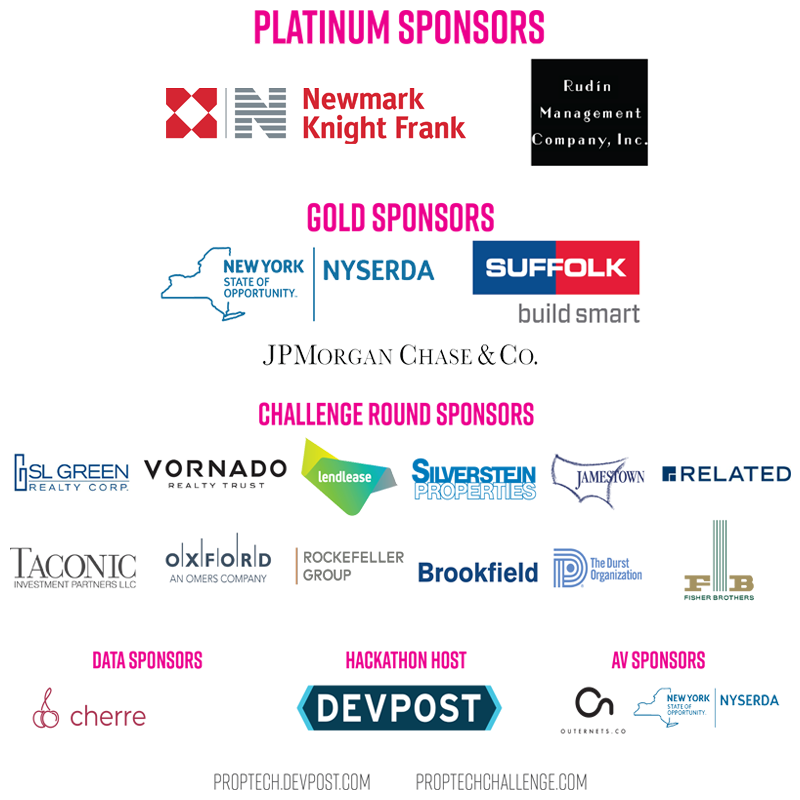 PropTech Challenge Sponsors