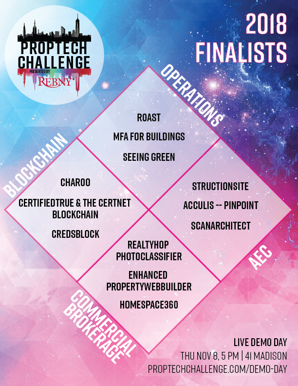 PropTech Challenge Finalists