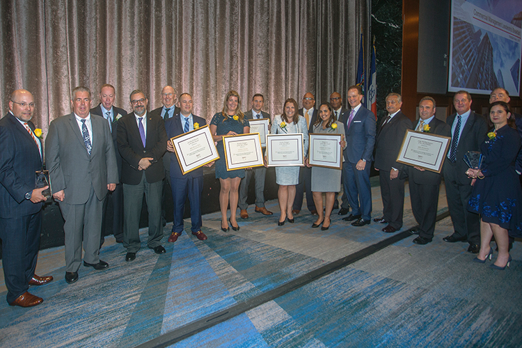 REBNY's Commercial Management Leadership Honorees and Award Presenters