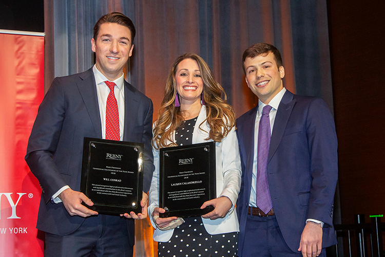 2018 Most Promising Commercial Salesperson of the Year Award Winners